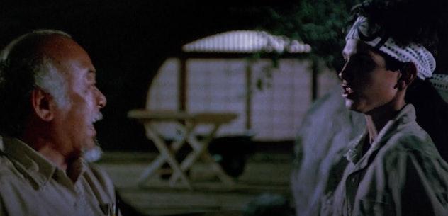 Ralph Macchio stars in the 1984 film, 'The Karate Kid.'