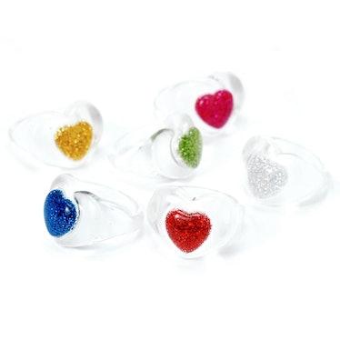 Love Power Resin Ring