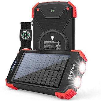 BLAVOR Solar Charger Power Bank