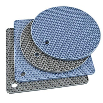 Silicone Trivet Mats (4-Pack)