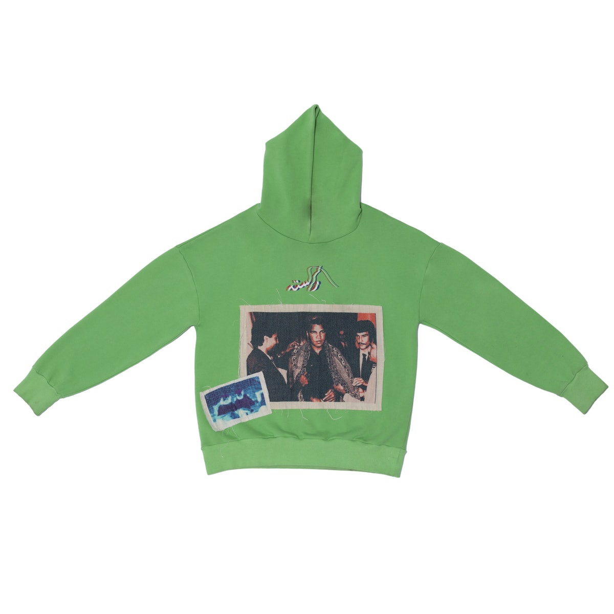 "Muhammad Ali ""Made in Pakistan"" Neon Hoodie"