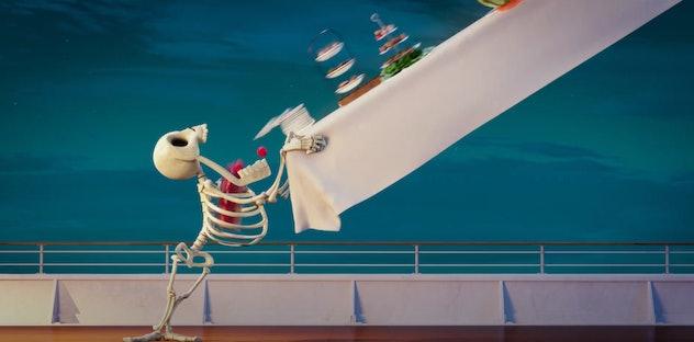 Adam Sandler lends his voice to the 2018 animated film, 'Hotel Transylvania 3.'