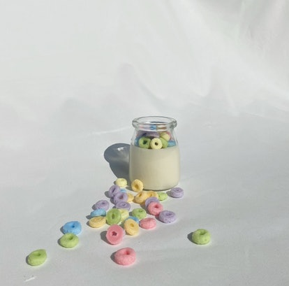 Froot Loops Candle | Black Owned Candle Shop | Scented Candle | Soy Wax Candle | Wax Melt