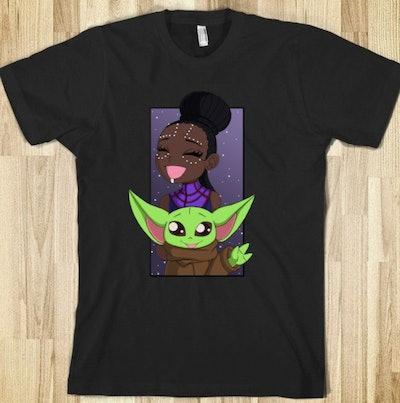 EbonyChan Baby Yoda & Shuri Shirt