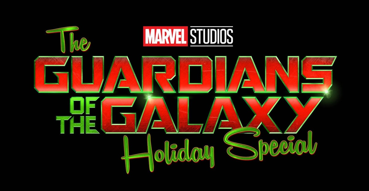 Guardians Of The Galaxy The Holiday Special logo