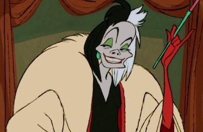 The original Cruella de Vil from '101 Dalmatians.'