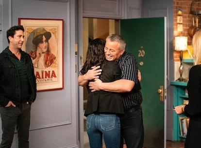Matt LeBlanc during the 'Friends Reunion.'