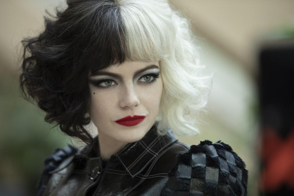 Emma Stone stars as the titular villain in 'Cruella.'