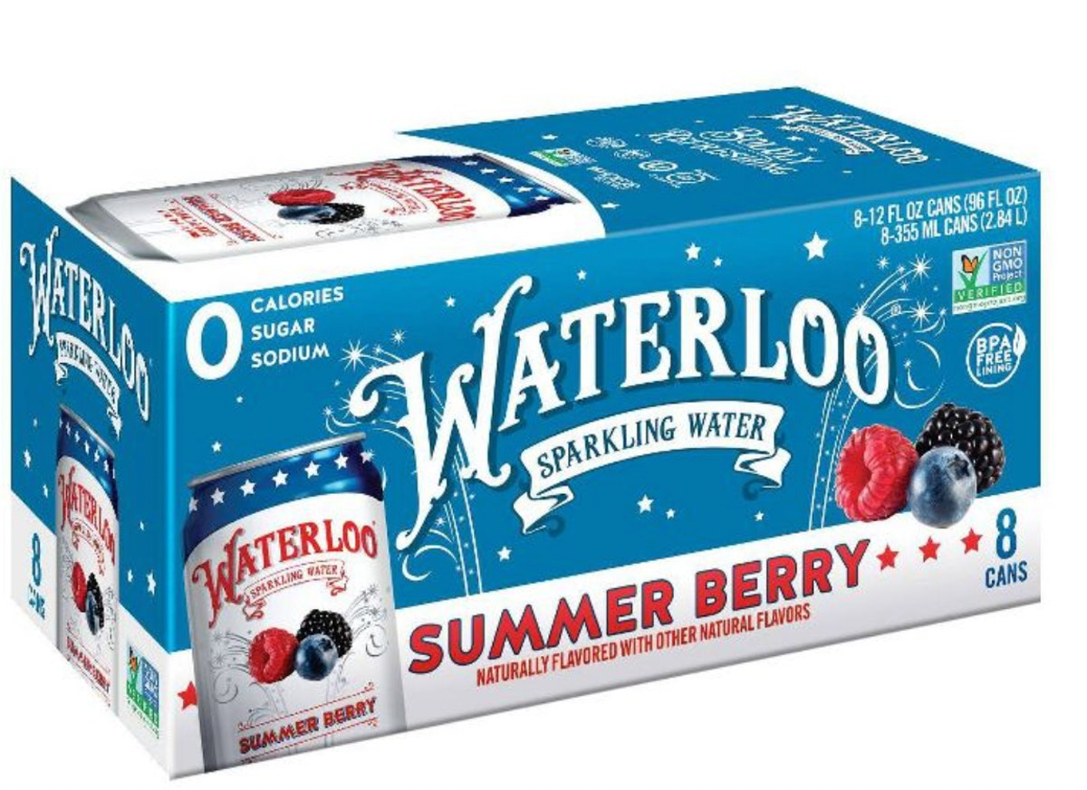 Waterloo Summer Berry Sparkling Water