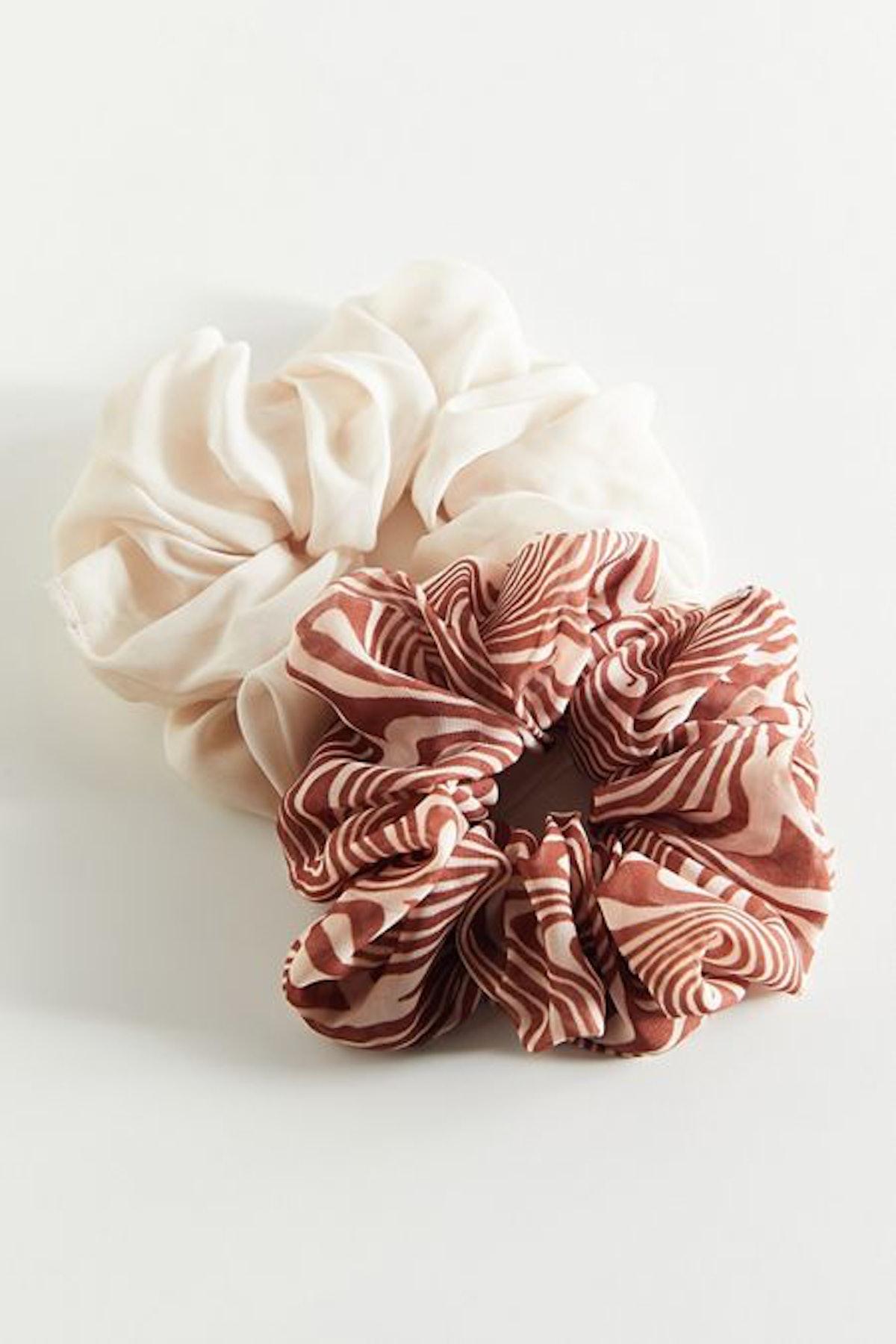 Chiffon Scrunchie Set