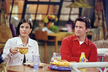Monica and Chandler were only supposed to have a fling in 'Friends.'
