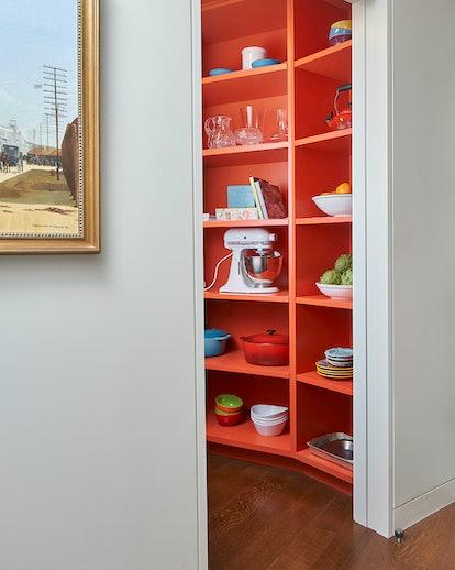 Citrus paint colors like orange are trending in design
