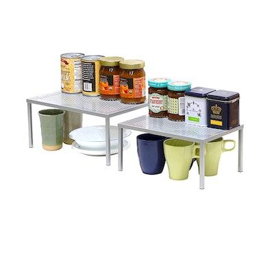 SimpleHouseware Expandable Stackable Kitchen Cabinet