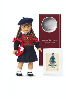 The re-release of American Girl's Molly doll
