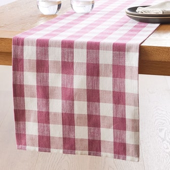 Heather Taylor Home Plaid Table Runner
