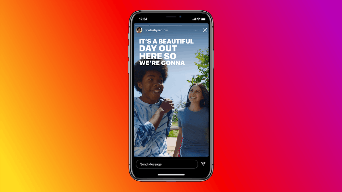 You can add auto captions on Instagram Story with plans to expand to Reels.