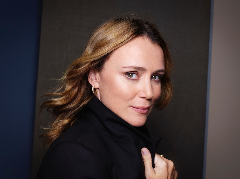 Keeley Hawes Photographed For Sky's 'The Midwich Cuckoos'