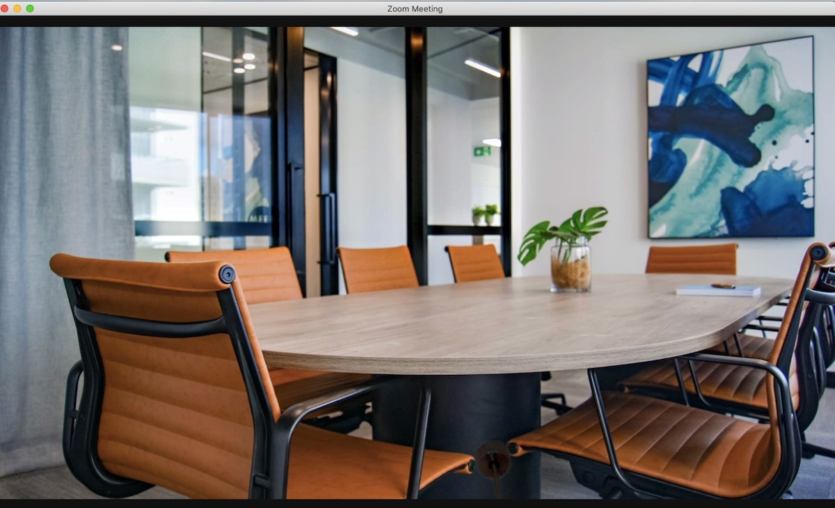 This conference room zoom background is perfect for any meeting.