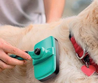 Ruff 'N Ruffus Self-Cleaning Grooming Brush