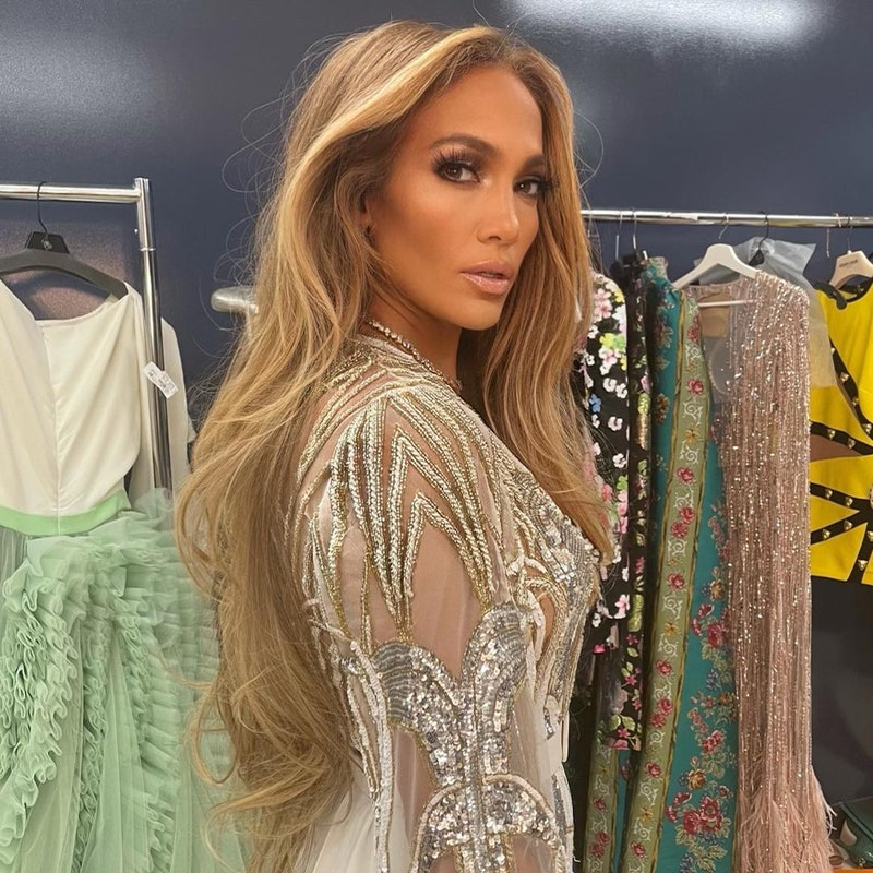 J.Lo glam extra-long ponytail