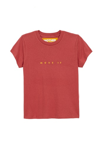The Rise & Shine Tee in Marsala