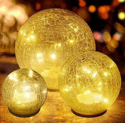 jiabang Glass Ball Lamp (3-Piece)