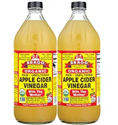 Bragg Organic Raw Unfiltered Apple Cider Vinegar (2-Pack)