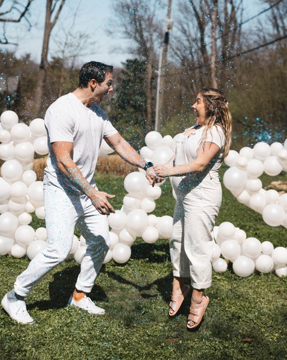 Johnson East and her husband will welcome a baby boy this summer.