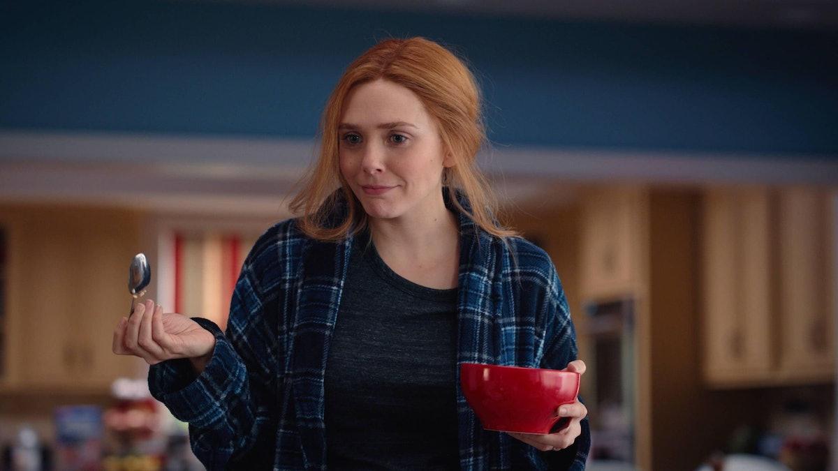 Elizabeth Olson as Wanda in WandaVision