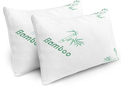 PLX Bamboo Memory Foam Pillow (2-Piece)