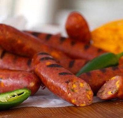 Jalapeño Cheddar Smoked Sausage Links