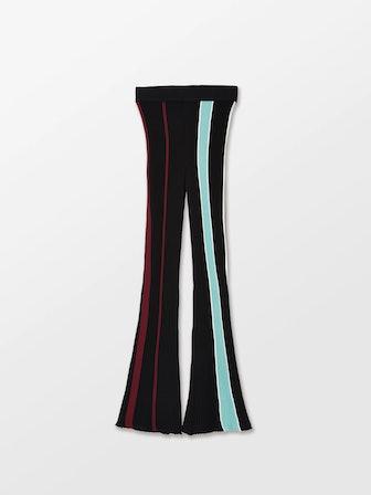 Ribbed Cotton Knit Pants