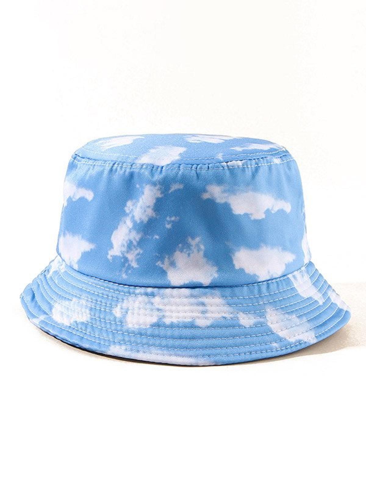 Emmoil Cloud Print Bucket Hat