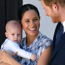 Meghan Markle & baby Archie