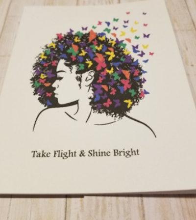 CardsColorsandCrafts Take Flight and Shine Bright card