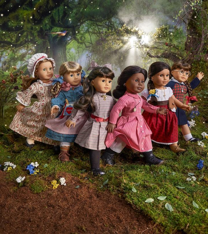 American Girl is re-releasing the six original dolls.