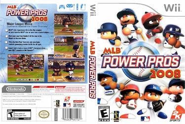 Cover art for 'MLB Power Pros 2008'