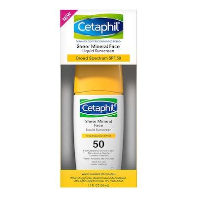 Cetaphil Sheer Mineral Face Liquid Sunscreen
