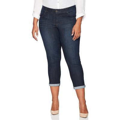 Democracy Plus-Size Ankle Skimmer Jeans