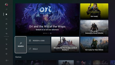 Xbox Store Ori, Cyberpunk, Assassin's Creed Valhalla, Destiny 2, and Halo Infinite featured