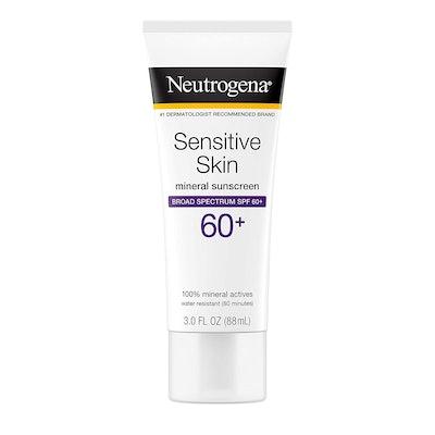 Neutrogena Sensitive Skin Mineral Sunscreen 60+
