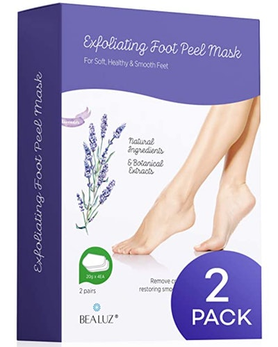 BEALUZ Lavender Foot Peel (2-Piece)