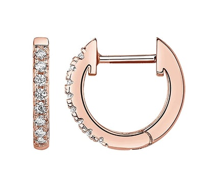 PAVOI Gold Plated Cubic Zirconia Cuff Earrings