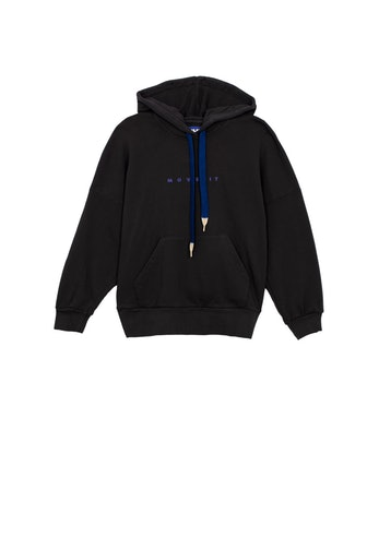 The Whip It Hoodie in Black
