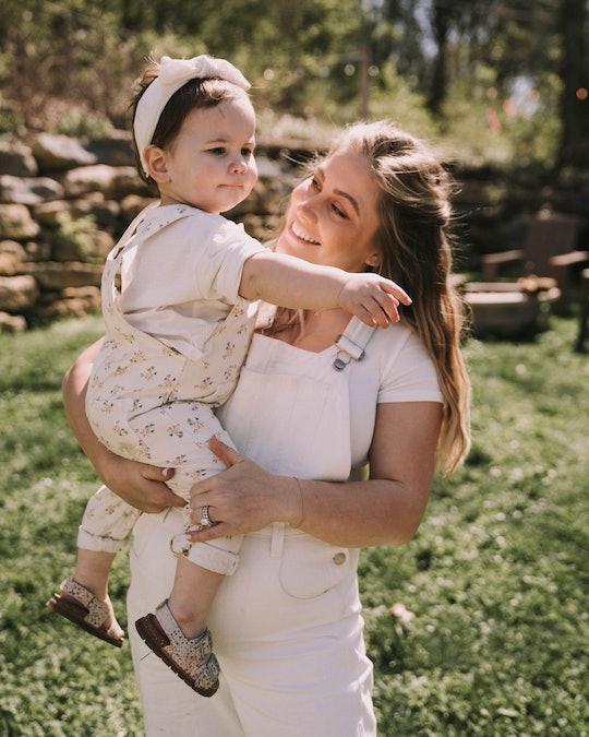 Shawn Johnson East gave birth to her first child, Drew Hazel, in November 2019.