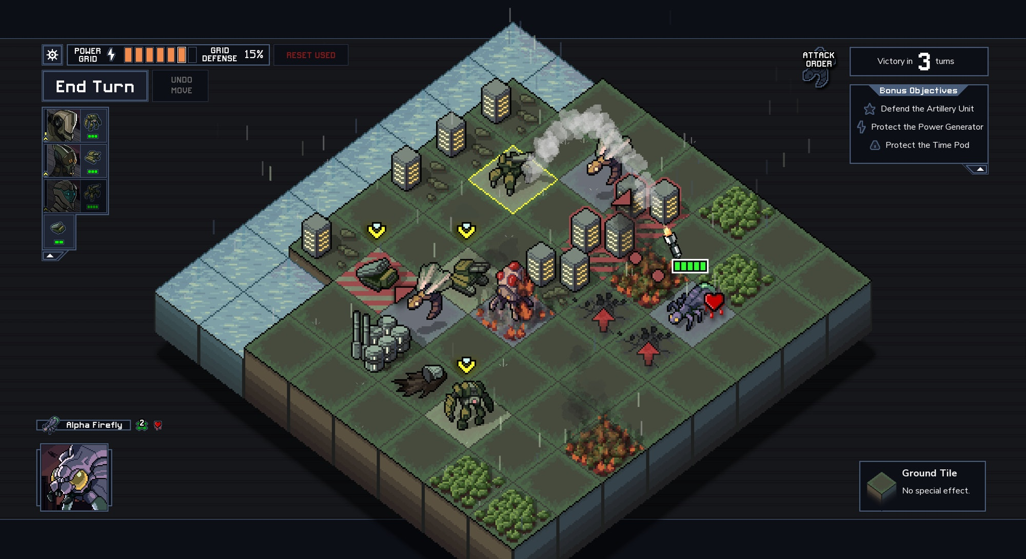 combat grid from into the breach