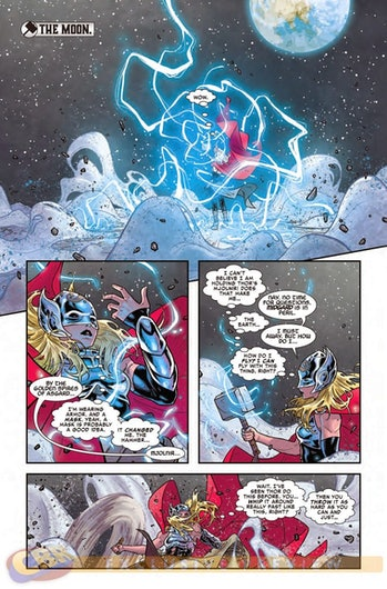 Jane Foster becomes Mighty Thor.