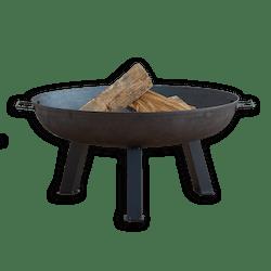 Square Leg Steel Fire Pit
