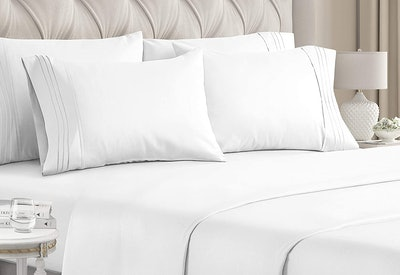 CGK Wrinkle-Free Luxury Cooling Bed Sheets (6-Piece)