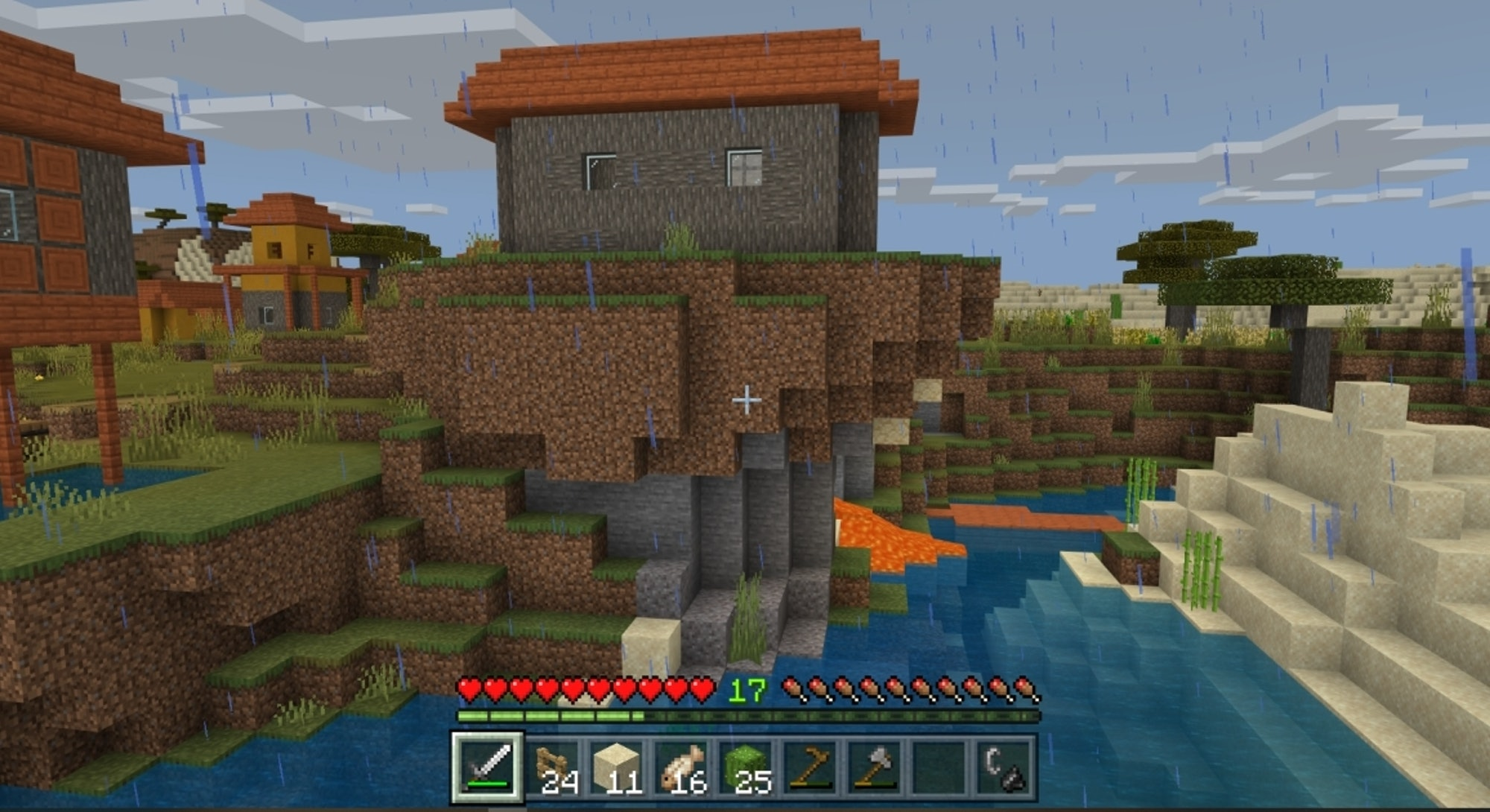 Screen shot from Minecraft. Video games. Gaming. Video gaming.